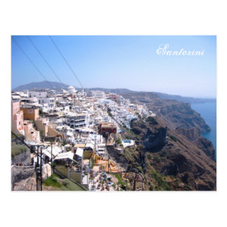 Santorini Thera Greece Post Cards