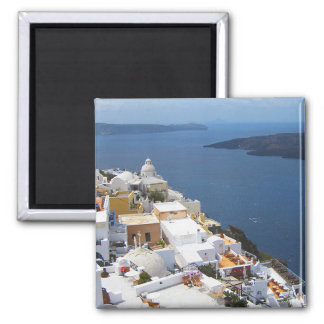 Santorini View of the Aegean Magnet