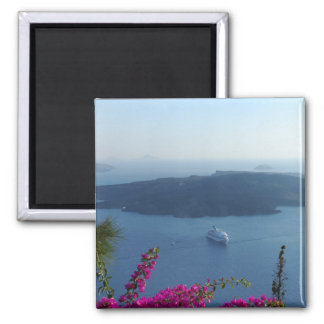 Santorini Waters Magnet