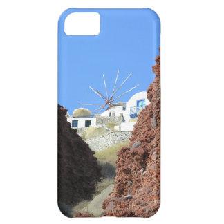 Santorini Windmill Case For iPhone 5C