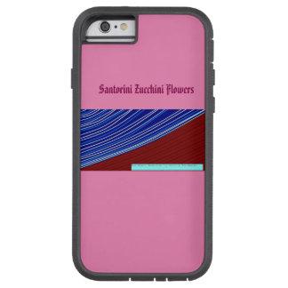 santorini zucchini flowers tough xtreme iPhone 6 case