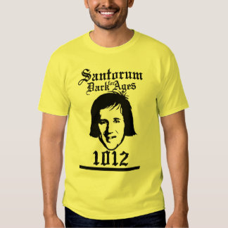 Santorum 1012 shirt