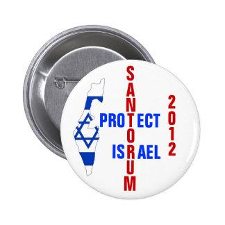 Santorum 2012 2 inch round button