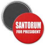 SANTORUM 2012 FRIDGE MAGNET