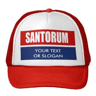 SANTORUM 2012 TRUCKER HATS