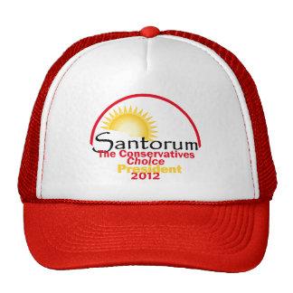 Santorum 2012 hats