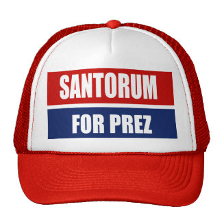 SANTORUM 2012 HAT