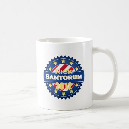 Santorum 2012 mugs