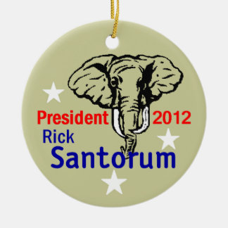 Santorum 2012 Ornament