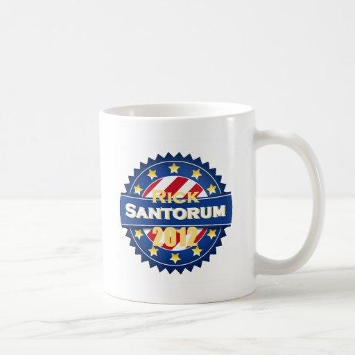 Santorum 2012 tazas de café