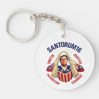 Santorum 2016 for Prez Keychains