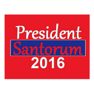 SANTORUM 2016 POST CARDS