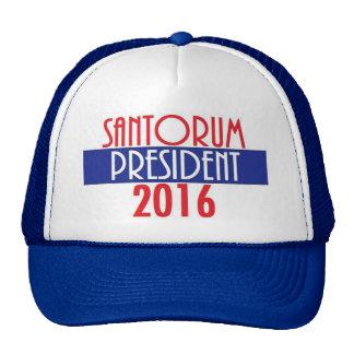 SANTORUM 2016 TRUCKER HAT