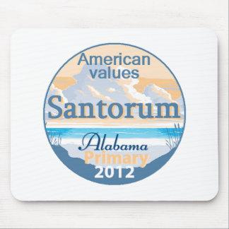 Santorum ALABAMA Mouse Pad