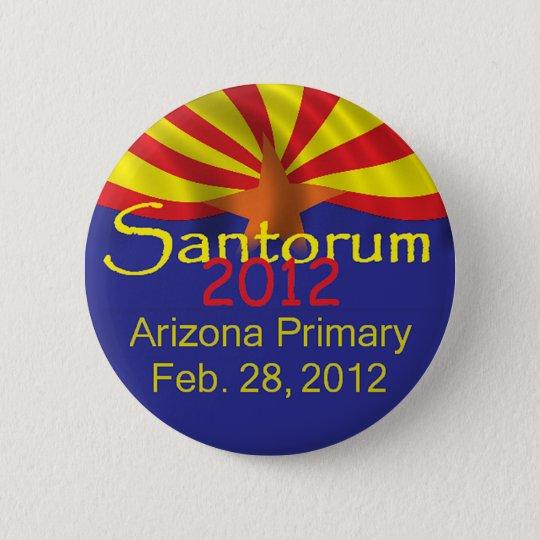 Santorum ARIZONA Button