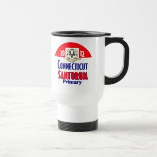 Santorum CONNECTICUT Coffee Mug