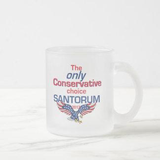 Santorum CONSERVATIVE Mug