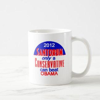 Santorum CONSERVATIVE Mugs