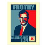 Santorum espumoso una sátira lubricada de la cuest postal