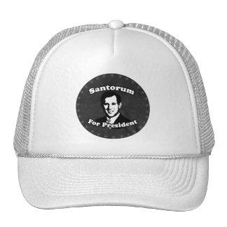 SANTORUM FOR PRESIDENT 2012 TRUCKER HATS