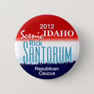 Santorum IDAHO Button