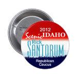 Santorum IDAHO Button