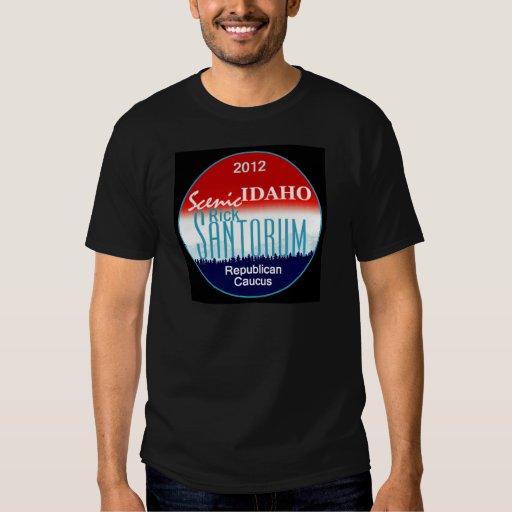 Santorum IDAHO Playeras