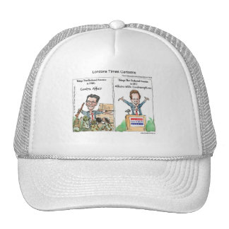 Santorum Iran Contraceptive Affair Funny Gifts Etc Trucker Hat