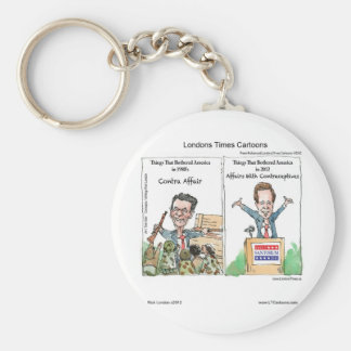 Santorum Iran Contraceptive Affair Funny Key Chain
