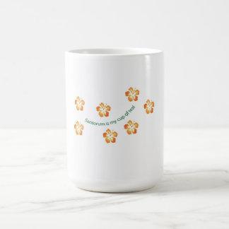 """Santorum is my cup of tea!"" Classic White Coffee Mug"