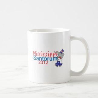 Santorum MISSISSIPPI Coffee Mugs