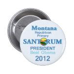 Santorum MONTANA Button