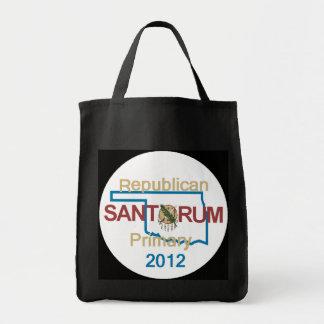 Santorum OKLAHOMA Bolsa Tela Para La Compra
