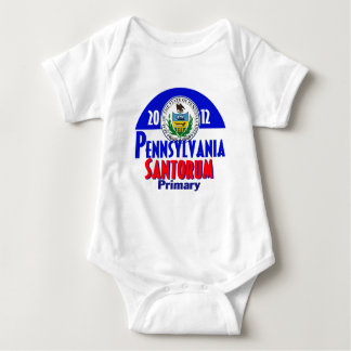 Santorum PENNSYLVANIA Baby Bodysuit