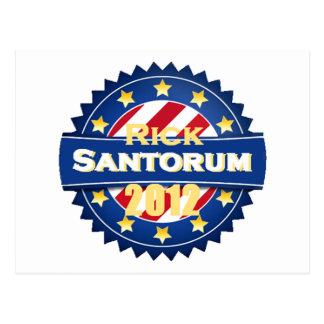 Santorum Postcard