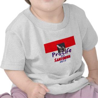 Santorum PROLIFE Tshirts