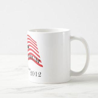Santorum que sacrifica para América 2012 Taza