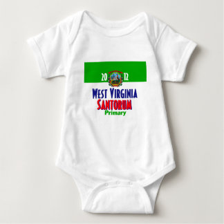 Santorum WEST VIRGINIA Baby Bodysuit