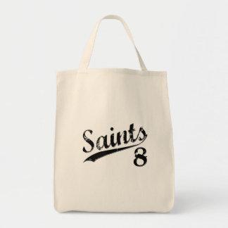 Santos 8 bolsa lienzo