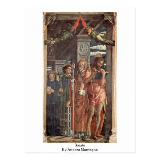 Santos de Andrea Mantegna Postales