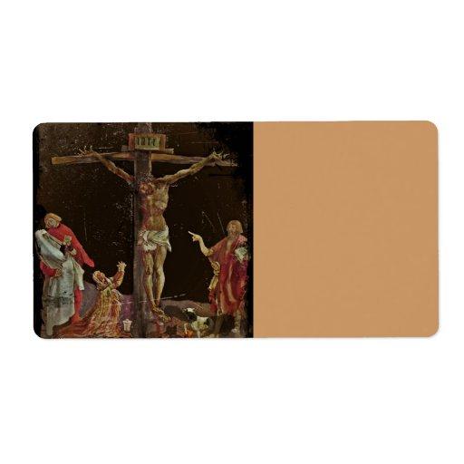 Santos de la crucifixión en los pies de Jesús Etiquetas De Envío