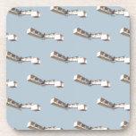 Santos-Dumont 14-Bis Airplane Drink Coasters