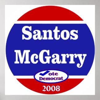 Santos McGarry en 2008 Posters
