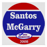 Santos McGarry in 2008 Posters
