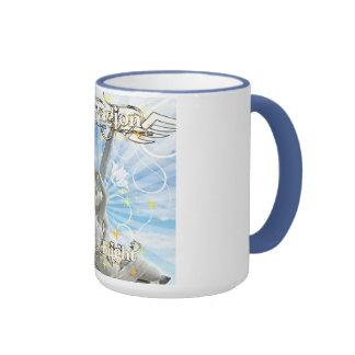 Santos y pecadores taza de café