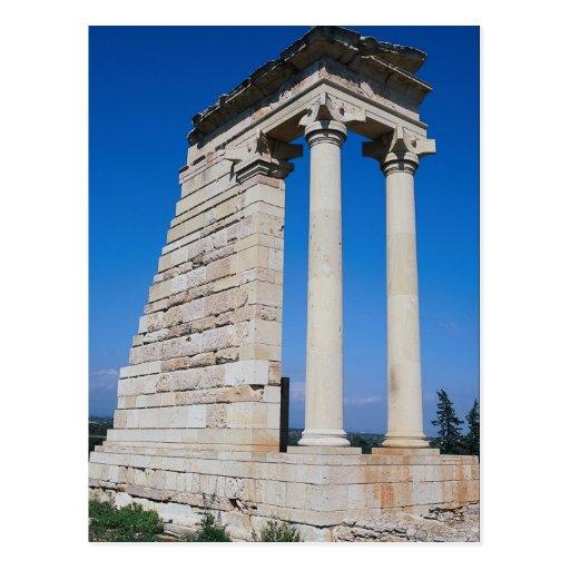 Santuario de Apolo, parte del si arqueológico Postales