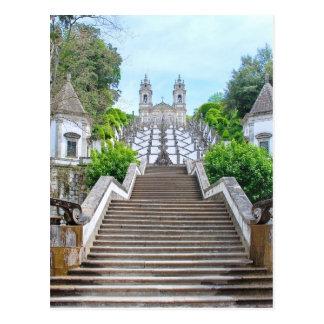 Santuario de Bom Jesús, Braga, Portugal Postales