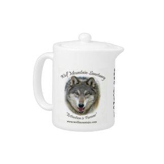 Santuario de la montaña del lobo - taza de té de
