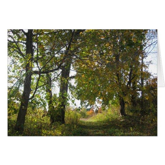 Santuario de la naturaleza de la granja de las tarjeta de felicitación