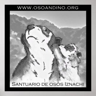 Santuario de Osos Iznachi - Afiche Impresiones